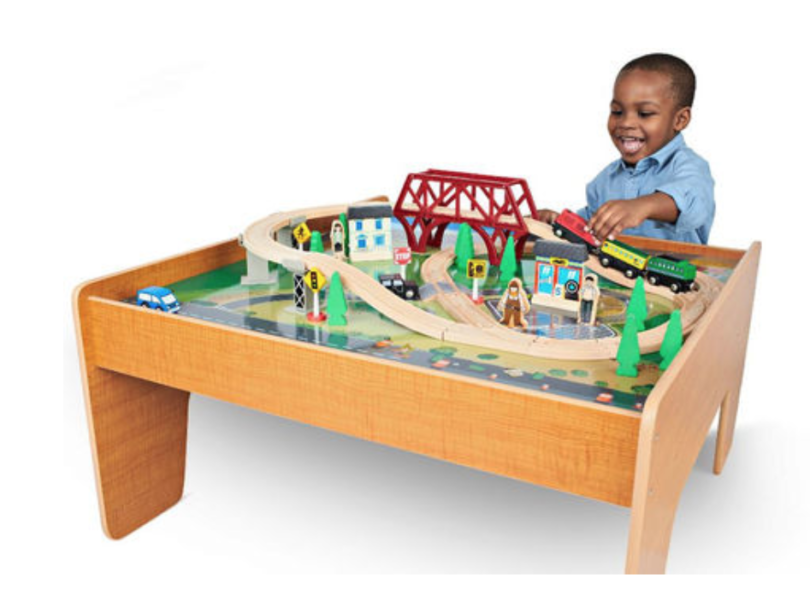 Imaginarium train set with table only 39 shipped for 10 in 1 game table toys r us