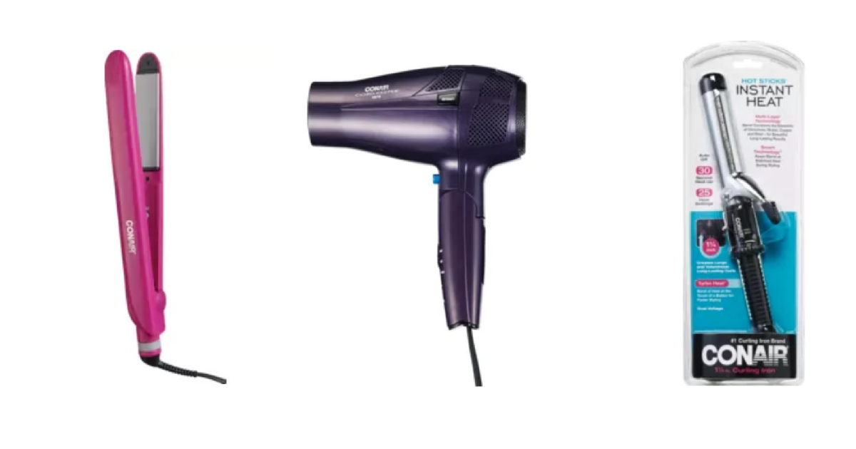 Conair Straightener Hair Dryer Or Curling Iron ONLY 5