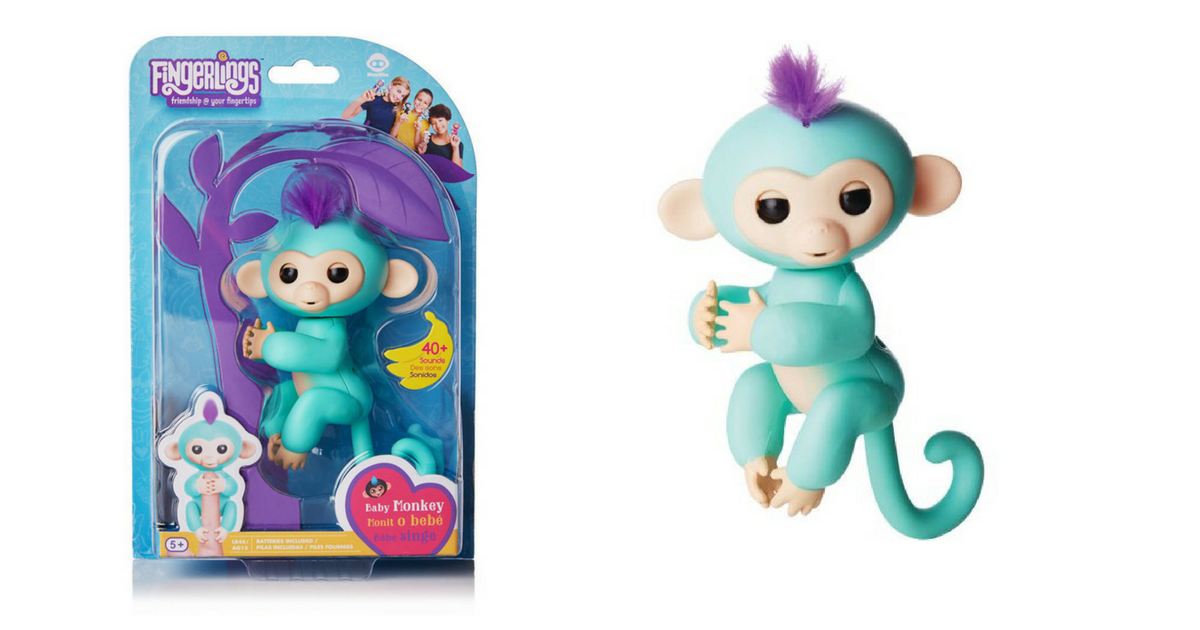 Runnnnn Fingerlings Interactive Baby Monkey In Stock And