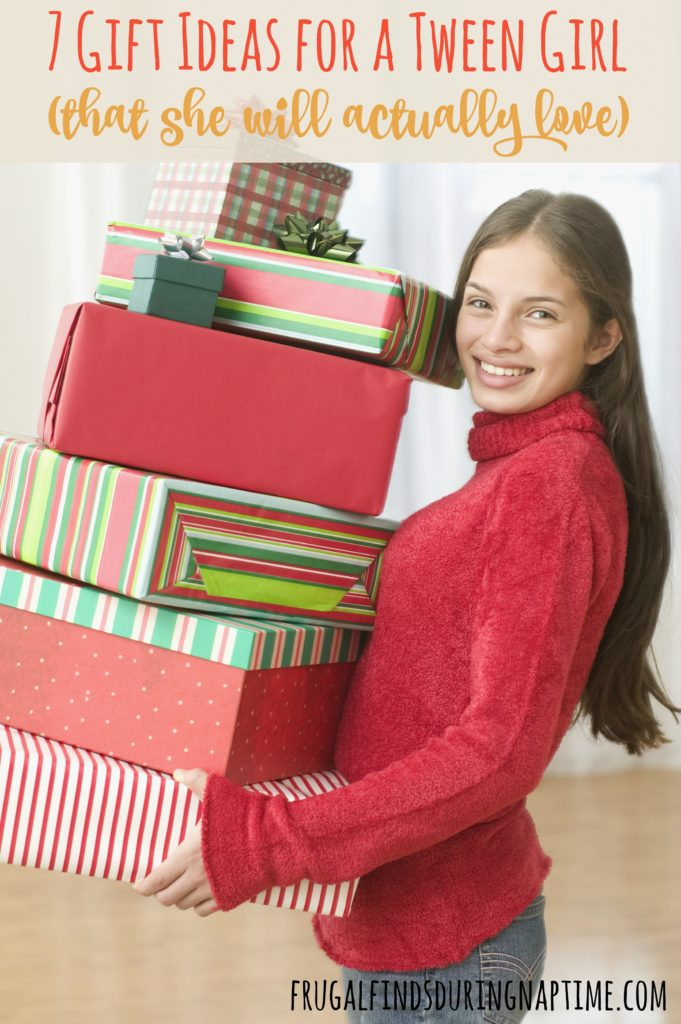 Tween girls are at the in-between stage. In-between being a kid and teenager. It's a tough age, and can be ever tougher to figure out a gift for her. Here are 7 gift ideas for a tween girl that she will actually love. #Sponsored #tween #gifts #Christmas