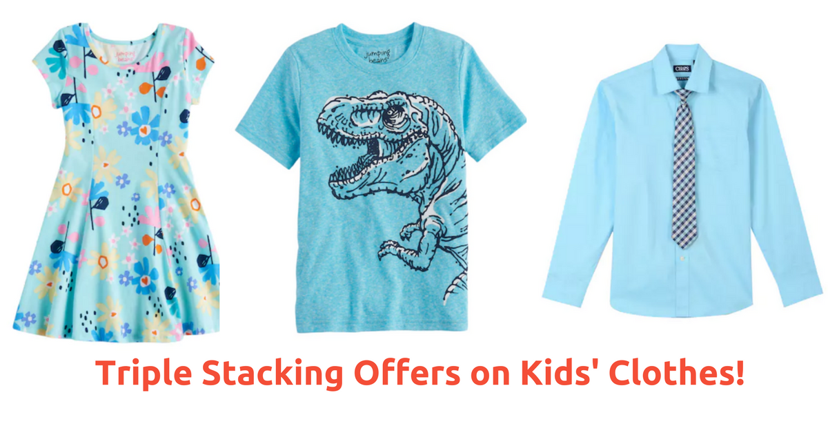 See Kohl's Coupons for the details and terms of our current offers and events. Kids. Outfit your kids in cute, play proof and durable Kohl's kids' clothes.