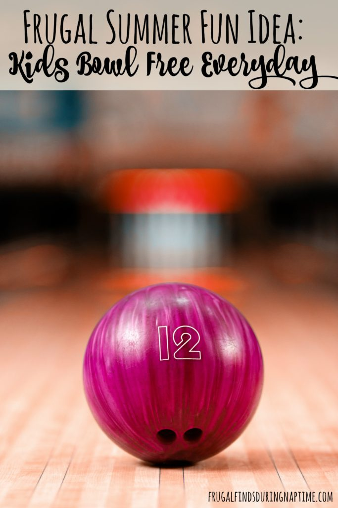Looking for something fun and frugal to do with the kiddos this summer? See how they can bowl two games each day for FREE!