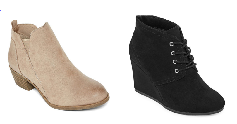 653127aafce2 This deal is back! JCPenney has their women s booties on sale for  29.99  (reg.  60). Use the coupon code 3FORYOU to save  10 on a  25 purchase
