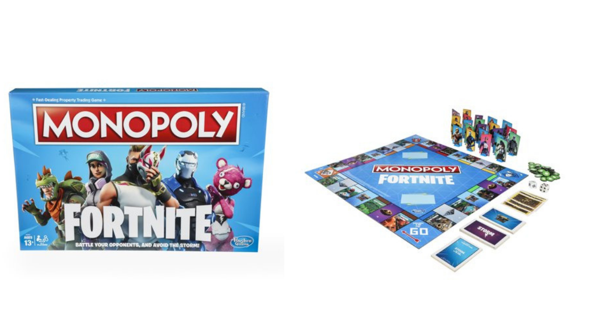 Monopoly Fortnite Edition Grab This For A Fortnite Fan