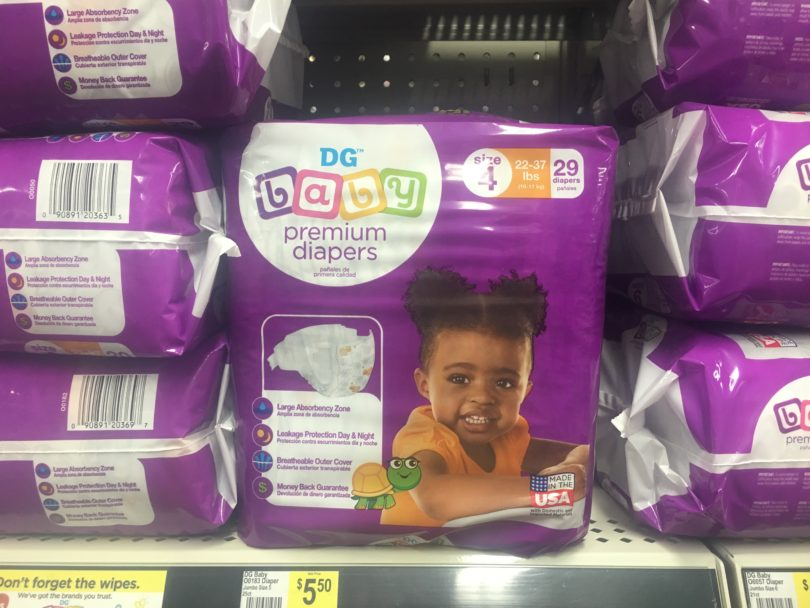 e5b704727 Use a digital coupon to pick up the Dollar General Brand of diapers for  just  4.50 this week at Dollar General! Here s how  Buy (1) DG Premium Baby  Diapers ...