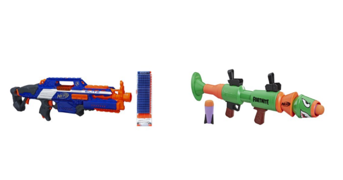 Grab A Free 10 Walmart Gift Card Wyb Select Nerf Guns Frugal Finds During Naptime